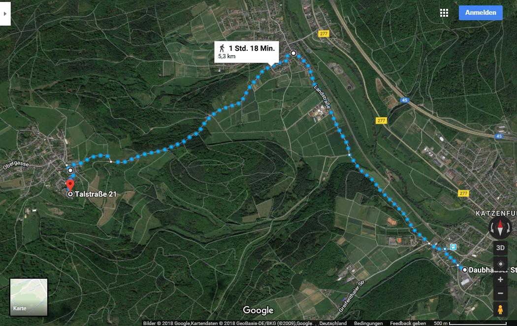 Berglaufstrecke